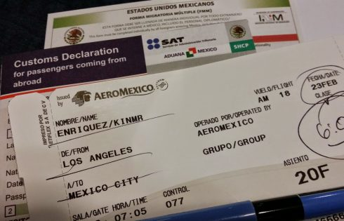 Mexico travel documents - Tourist Visa