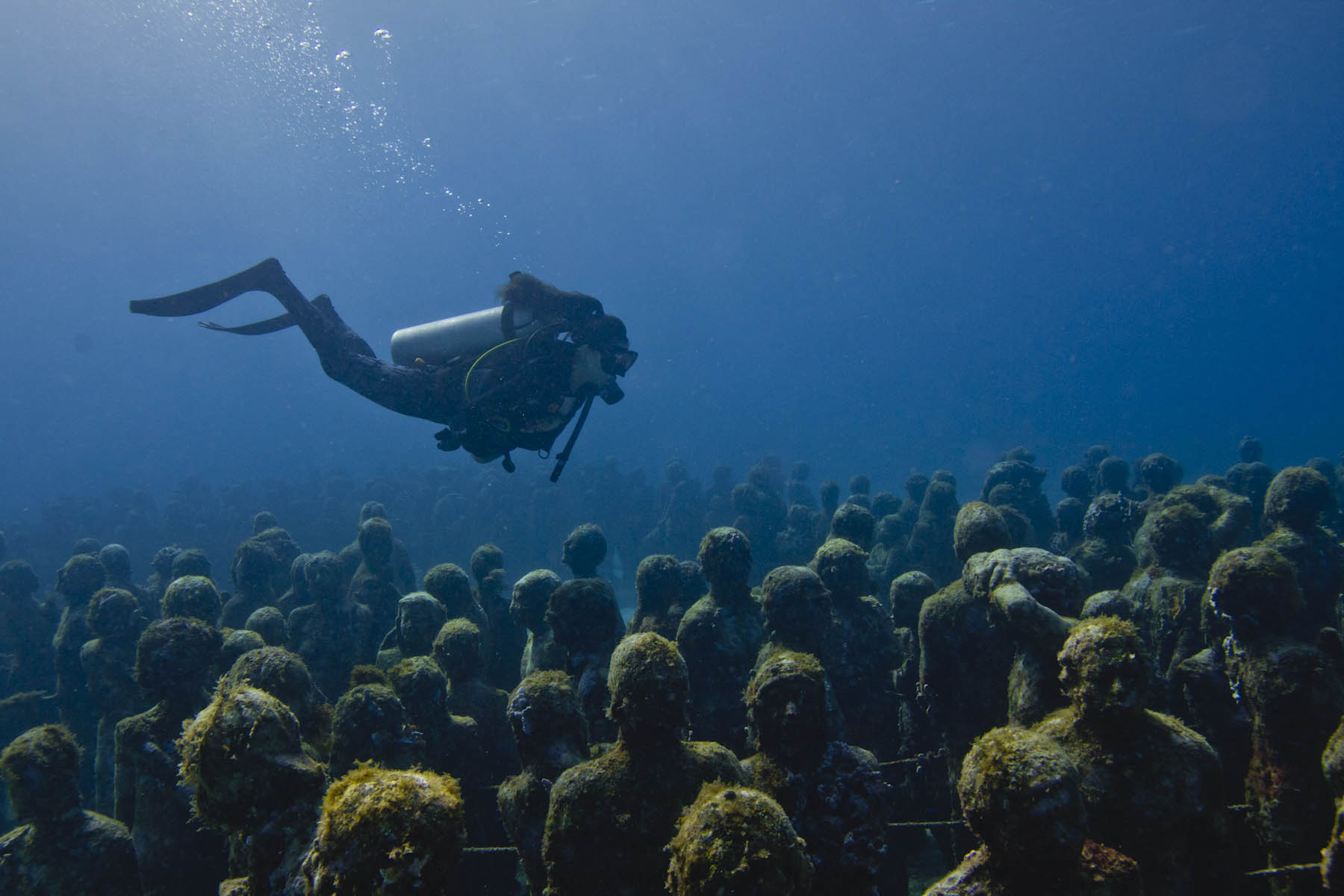 Underwater Museum Cancun.