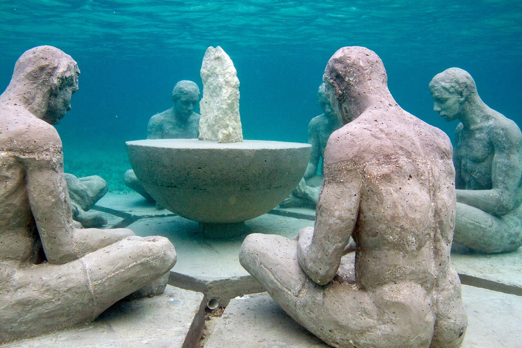 Underwater Museum Cancun